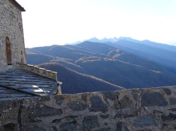 A view from La Sacra di San Michele