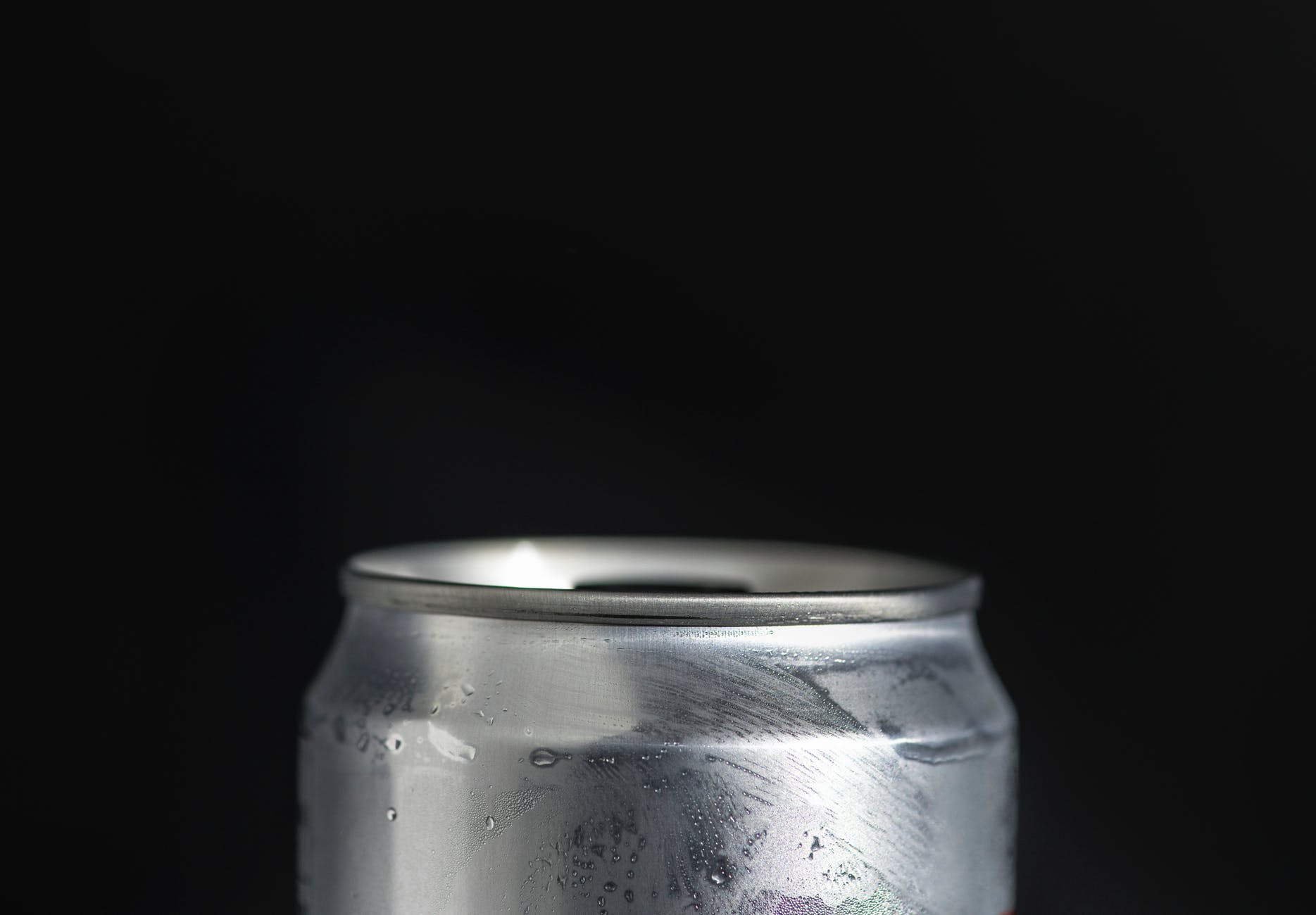 silver aluminum can